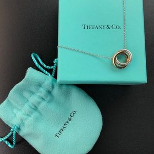 Tiffany & Co. 1837 Interlocking Pendant